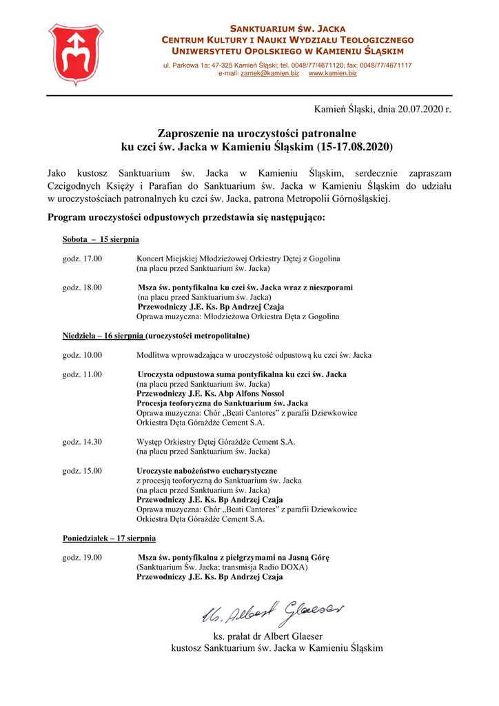 Odpust-św. Jacek-zaproszenie-księża-parafianie-1.jpeg