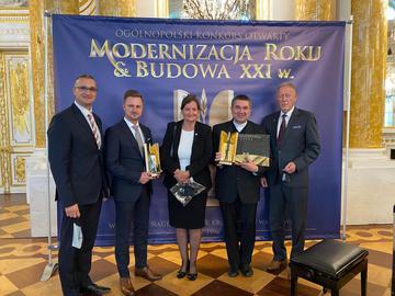 Galeria Modernizacja roku - Budowla XXI w